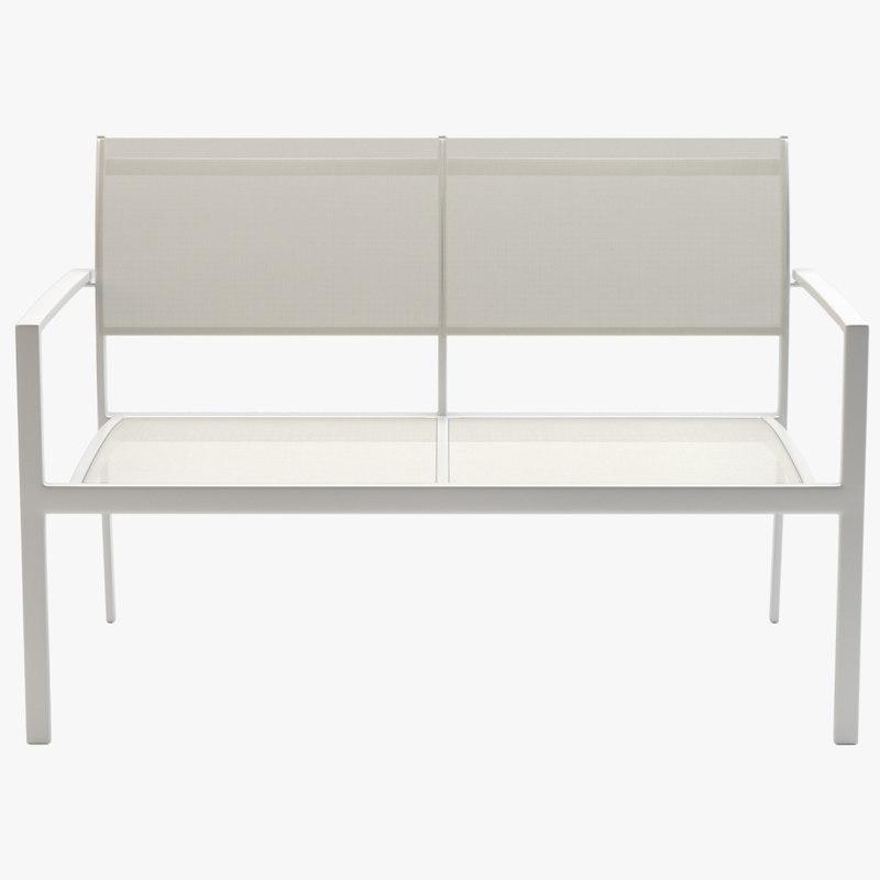 chair varaschin victor sofa 3d model