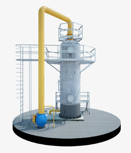 cyclone dust collector gas max