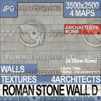Roman Stone Wall D
