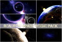 Blender scene space pack