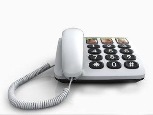 doro 331ph 3d model