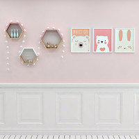 3d frames shelfs scandinavian childroom