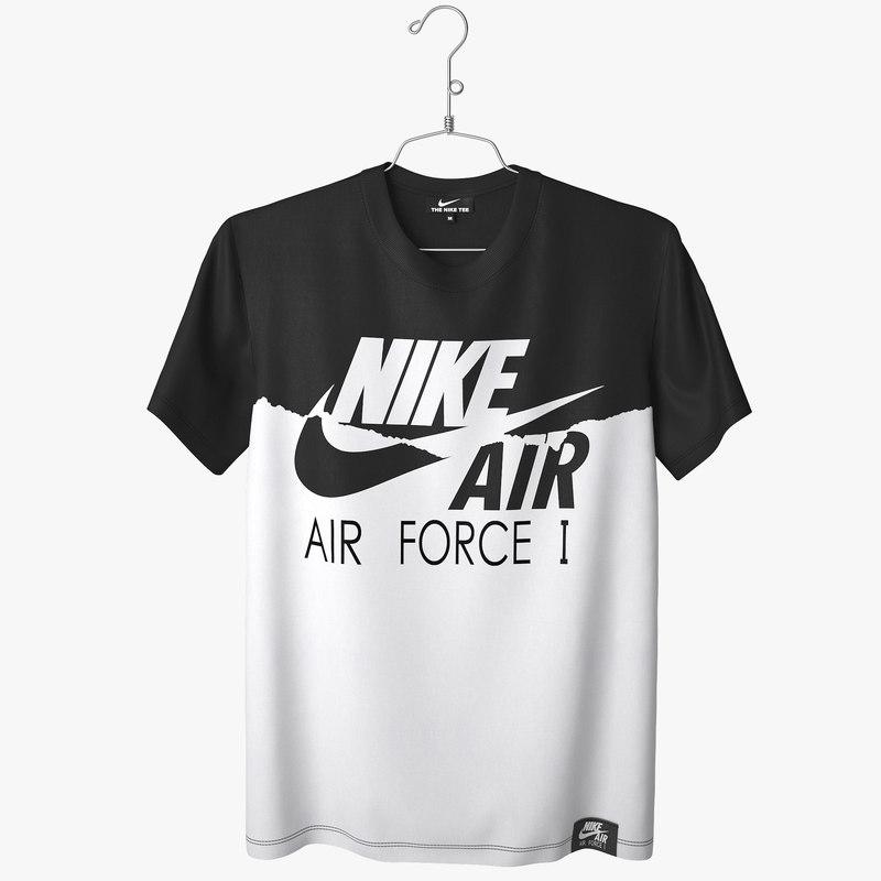 t shirt nike air force 3d max