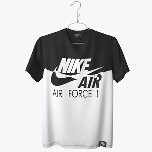 t shirt nike air force 3d max