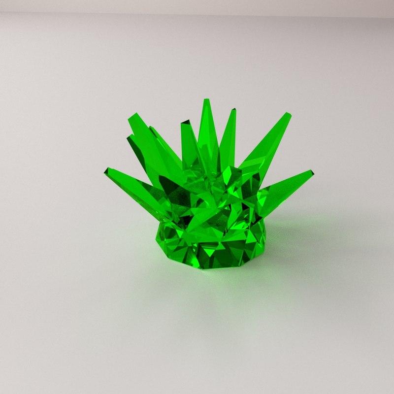 3d crystal materials