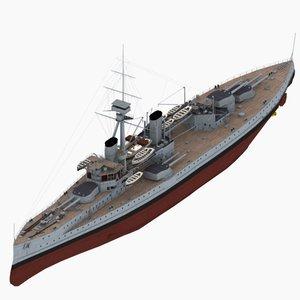 3d colossus battleship