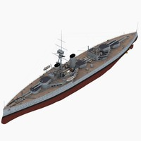 orion battleship 3d max