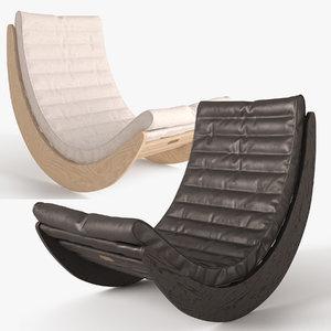 3d verner panton relaxer chair