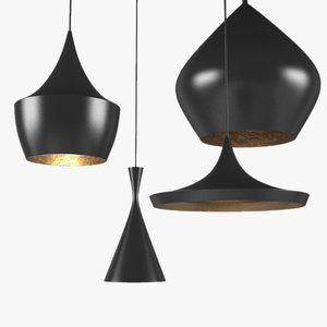 tom dixon light 3d obj