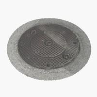 Manhole Cover 25