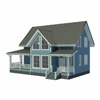 house cottage 3d model