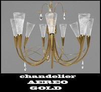 chandelier AEREO GOLD 711093