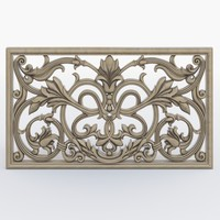 cnc decoration panels 3d model