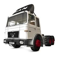 MAN F8 26.321 semitrailer white