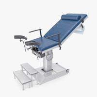 3d gynecological chair model
