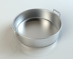 baking dish 3d model