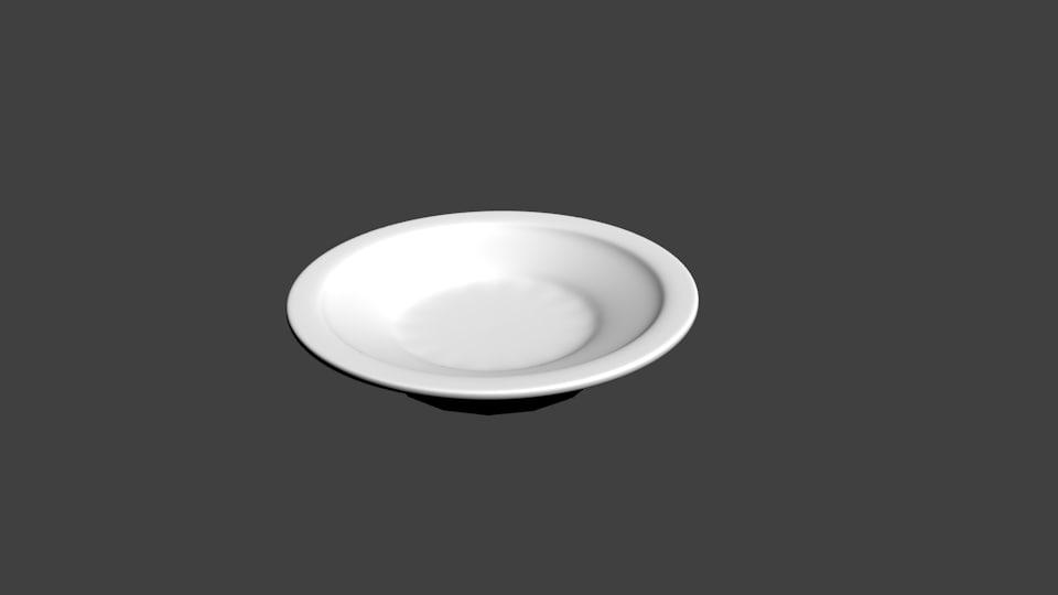 plate 3d blend