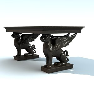 french griffon table lwo