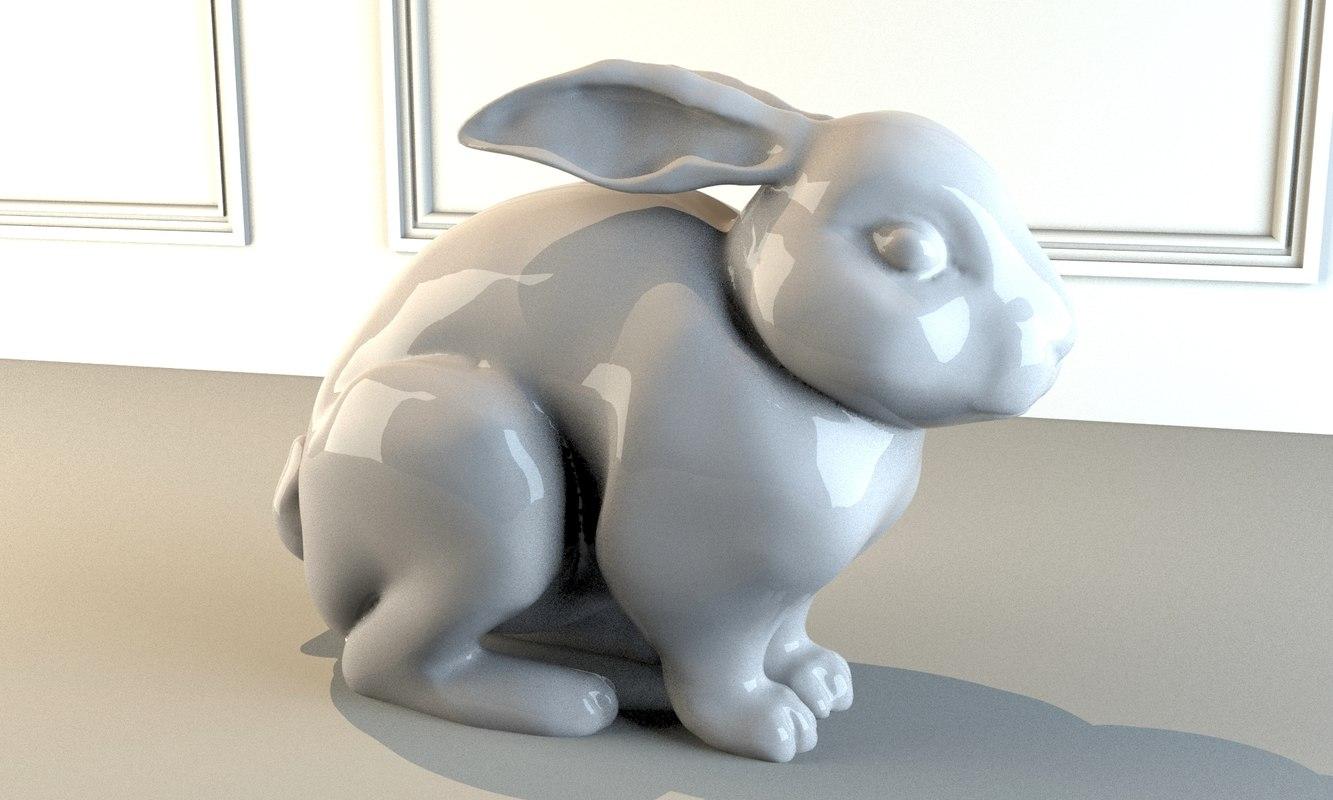 realistic rabbit max