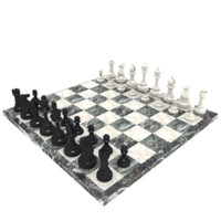 Full Marble Chess Set