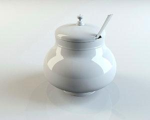 ceramic tureen 3d max