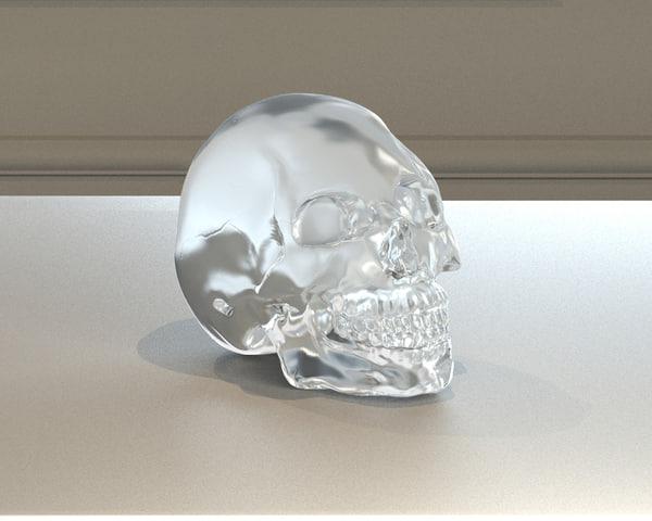 max realistic crystal skull