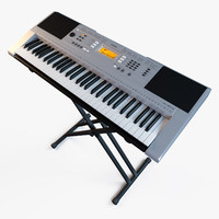 3d synthesizer yamaha psr-e353
