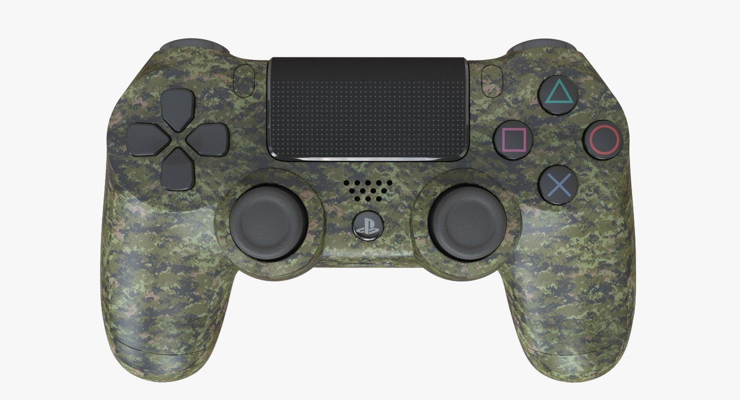 3d model military ps4