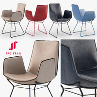 3d freifrau amelie armchair basic model