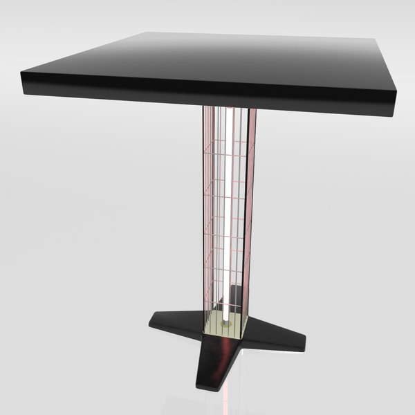 3d max table heater