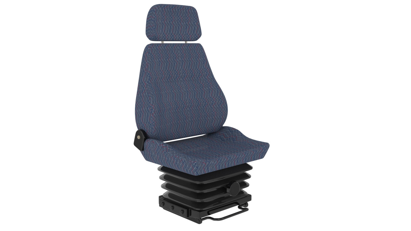 3d vehicle seat model