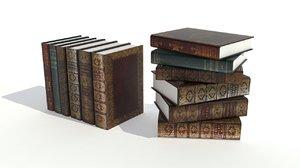 book set v1 3d x
