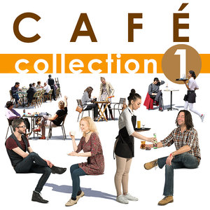 Cafe Collection - Cut out people