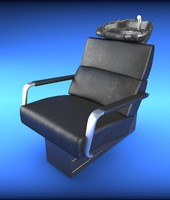 3d arm-chair salon model