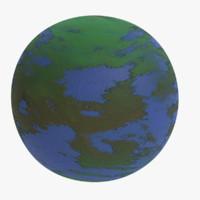3ds terrestrial exoplanet