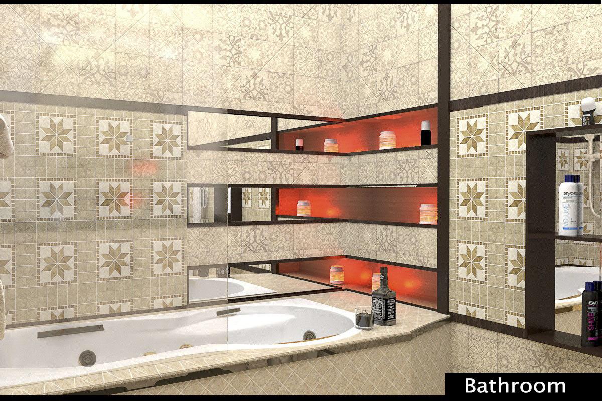 bathroom interior 3d model