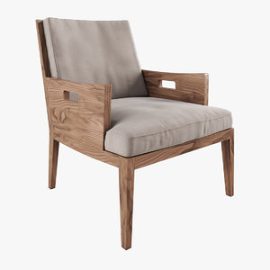 betty armchair flexform 3d model