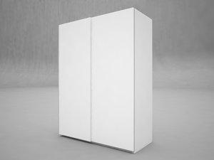3d model wardrobe pax ikea