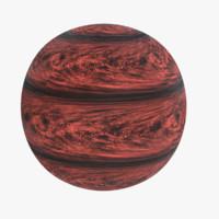 lava exoplanet 3d 3ds