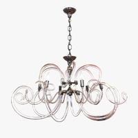 chandelier bellart vanity glass obj
