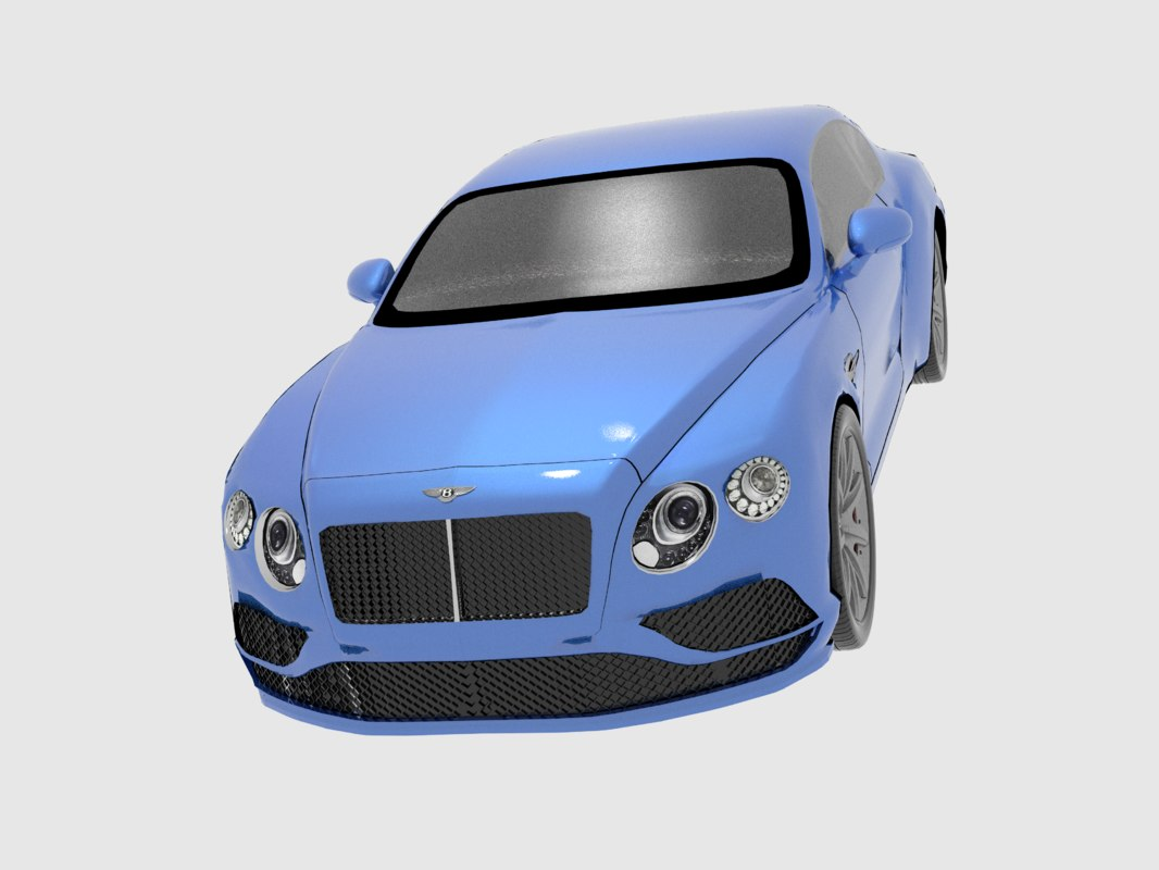 3ds bentley continental gt