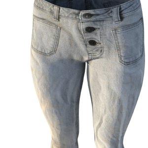 realistic rise jeans 3d obj