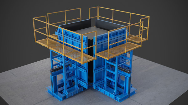 casting elevators 3d max