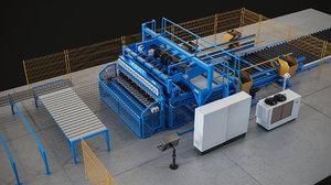 3d model welding machine
