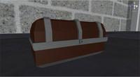 free fbx model chest medieval