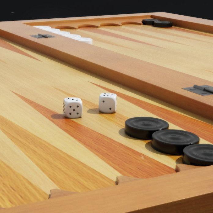 3d max backgammon