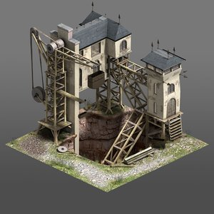 coal isometric ma