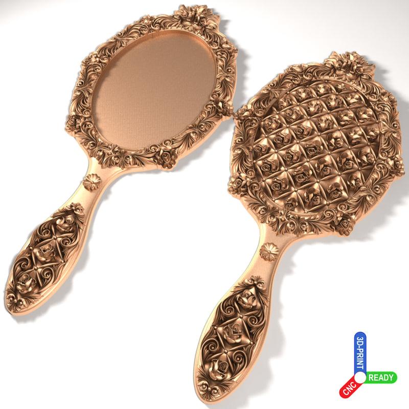 3d hand mirror