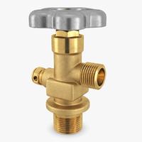 valve gas 3d max