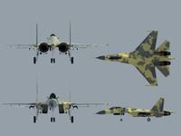 3d x su-35 airfighter